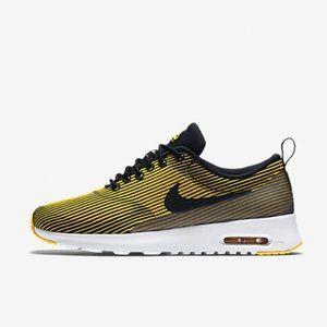 Nike air max black and yellow
